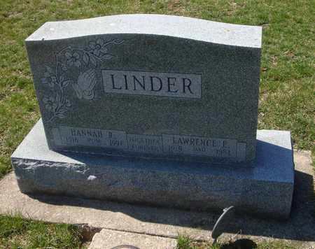 LINDER, LAWRENCE E. - Will County, Illinois | LAWRENCE E. LINDER - Illinois Gravestone Photos