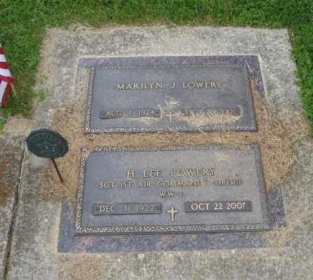 LOWREY, H. LEE - Will County, Illinois   H. LEE LOWREY - Illinois Gravestone Photos