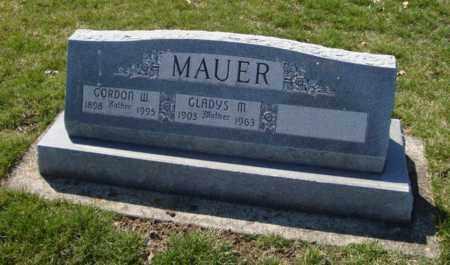 MAUER, GORDON W. - Will County, Illinois | GORDON W. MAUER - Illinois Gravestone Photos