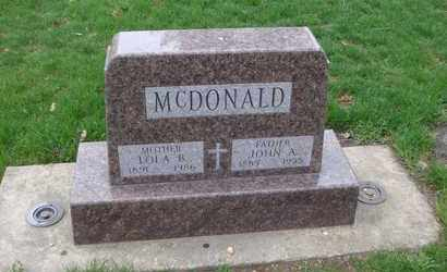 MCDONALD, LOLA B. - Will County, Illinois | LOLA B. MCDONALD - Illinois Gravestone Photos