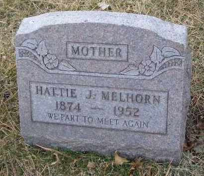 MELHORN, HATTIE J. - Will County, Illinois | HATTIE J. MELHORN - Illinois Gravestone Photos