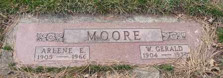 MOORE, ARLENE E. - Will County, Illinois | ARLENE E. MOORE - Illinois Gravestone Photos