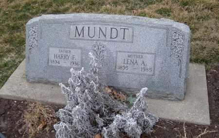 MUNDT, HARRY F. - Will County, Illinois   HARRY F. MUNDT - Illinois Gravestone Photos