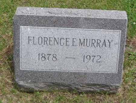 MURRAY, FLORENCE E. - Will County, Illinois   FLORENCE E. MURRAY - Illinois Gravestone Photos