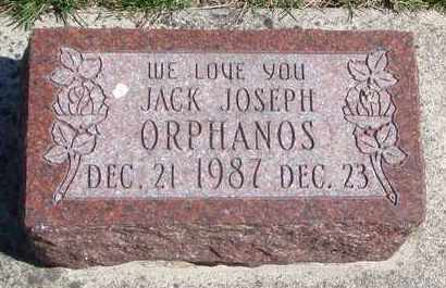 ORPHANOS, JACK JOSEPH - Will County, Illinois | JACK JOSEPH ORPHANOS - Illinois Gravestone Photos
