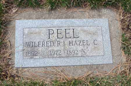 PEEL, WILFRED R. - Will County, Illinois | WILFRED R. PEEL - Illinois Gravestone Photos