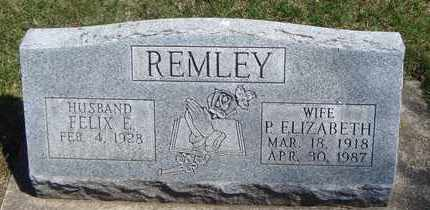 REMLEY, FELIX E. - Will County, Illinois | FELIX E. REMLEY - Illinois Gravestone Photos