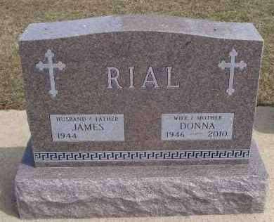 RIAL, DONNA - Will County, Illinois | DONNA RIAL - Illinois Gravestone Photos