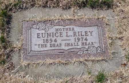 RILEY, EUNICE L. - Will County, Illinois | EUNICE L. RILEY - Illinois Gravestone Photos