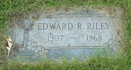 RILEY, EDWARD R. - Will County, Illinois | EDWARD R. RILEY - Illinois Gravestone Photos