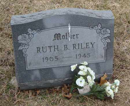 RILEY, RUTH B. - Will County, Illinois   RUTH B. RILEY - Illinois Gravestone Photos