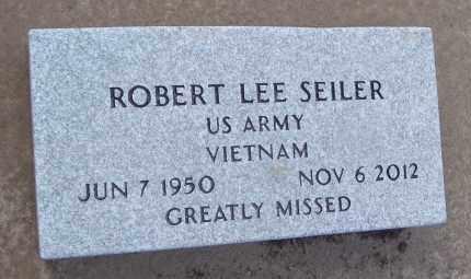 SEILER, ROBERT LEE - Will County, Illinois | ROBERT LEE SEILER - Illinois Gravestone Photos