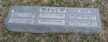 BAKER, HELEN P. - Will County, Illinois | HELEN P. BAKER - Illinois Gravestone Photos