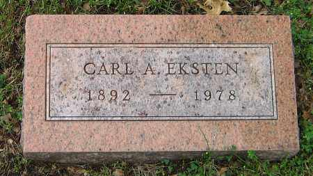 EKSTEN, CARL A - Winnebago County, Illinois | CARL A EKSTEN - Illinois Gravestone Photos