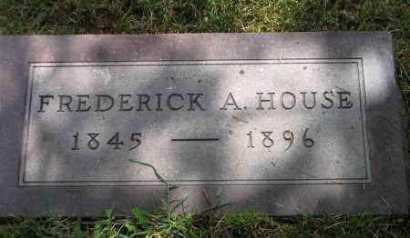 HOUSE, FREDERICK A - Winnebago County, Illinois | FREDERICK A HOUSE - Illinois Gravestone Photos
