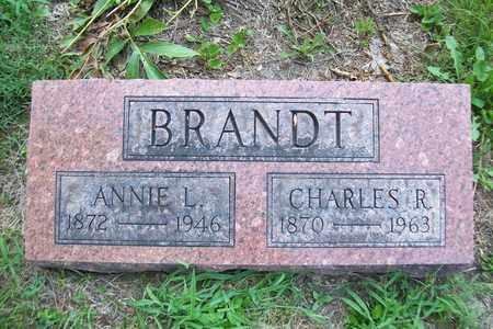 BRANDT, CHARLES R - Woodford County, Illinois   CHARLES R BRANDT - Illinois Gravestone Photos