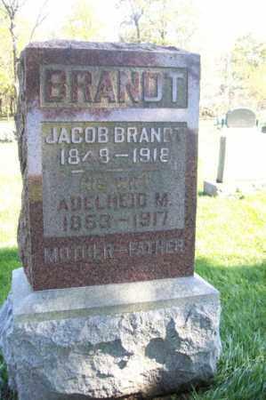 BRANDT, ADELHEID M. - Woodford County, Illinois   ADELHEID M. BRANDT - Illinois Gravestone Photos