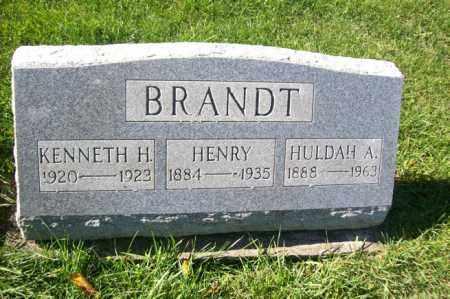 BRANDT, KENNETH H. - Woodford County, Illinois | KENNETH H. BRANDT - Illinois Gravestone Photos