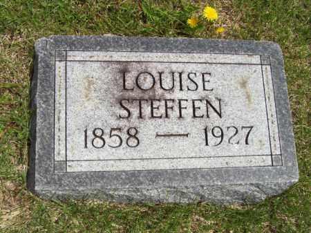 STEFFEN, LOUISE - Woodford County, Illinois | LOUISE STEFFEN - Illinois Gravestone Photos