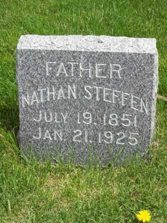 STEFFEN, NATHAN - Woodford County, Illinois | NATHAN STEFFEN - Illinois Gravestone Photos