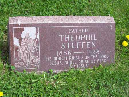 STEFFEN, THEOPHIL - Woodford County, Illinois   THEOPHIL STEFFEN - Illinois Gravestone Photos