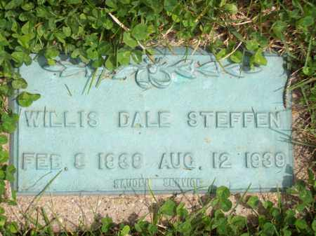 STEFFEN, WILLIS DALE - Woodford County, Illinois | WILLIS DALE STEFFEN - Illinois Gravestone Photos