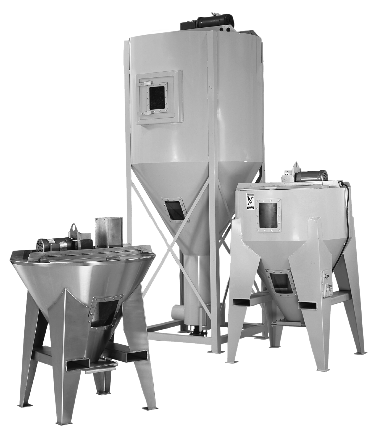 Portable Batch Mixers