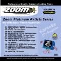 Zoom Platinum Artists - Volume 73 by Karaoke - Various Artists