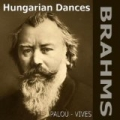 Hungarian Dances of Brahms (For Piano Four-Hands) by Maria Esther Vives Margarita Palou