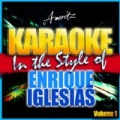 Karaoke - Enrique Iglesias Vol. 1 by Ameritz - Karaoke