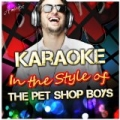 Karaoke - In the Style of the Pet Shop Boys by Ameritz - Karaoke
