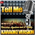 Tell Me (In the Style of Christina Aguilera and P. Diddy) [Karaoke Version] by Ameritz Top Tracks