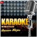 Karaoke - In the Style of Darren Hayes by Ameritz Top Tracks