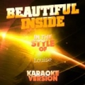 Beautiful Inside (In the Style of Louise) [Karaoke Version] - Single by Ameritz Audio Karaoke