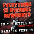 Everything Is Average Nowadays (In the Style of Kaiser Chiefs) [Karaoke Version] - Single by Ameritz Audio Karaoke