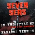 Seven Seas (In the Style of Echo & The Bunnymen) [Karaoke Version] - Single by Ameritz Audio Karaoke