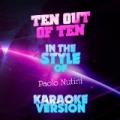 Ten out of Ten (In the Style of Paolo Nutini) [Karaoke Version] - Single by Ameritz Audio Karaoke