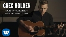 Greg Holden 'Boys In The Street' music video