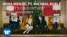 Idina Menzel 'Baby It's Cold Outside' music video