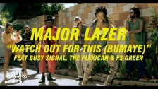 Major Lazer 'Watch Out For This (Bumaye)' music video