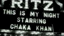 Chaka Khan 'This Is My Night' music video