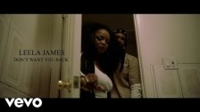 Leela James 'Don't Want You Back' music video