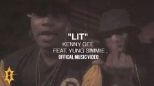 Kenny Gee 'Lit' music video