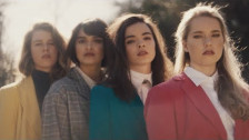 The Aces 'Volcanic Love' music video