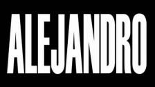 Lady Gaga 'Alejandro' music video