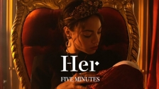 Her 'Five Minutes' music video