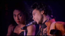 Prince 'I Could Never Take the Place of Your Man' music video