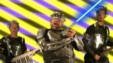 The Axis of Awesome 'Why Aren't Lasers Doing Cool Shit?' music video