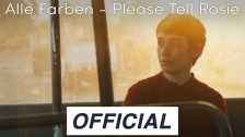 Alle Farben 'Please Tell Rosie' music video