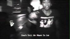 Cerebral Ballzy 'Don't Tell Me What To Do Video' music video
